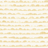 Magnolia Home Hill and Horizon Yellow Wallpaper