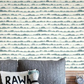 Magnolia Home Hill and Horizon Blue Wallpaper