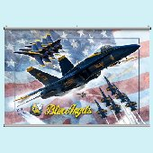 Blue Angels Minute Mural