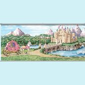 Enchanted Kingdom Wall Minute Mural