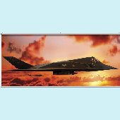 F17 Sundown Wall Minute Mural
