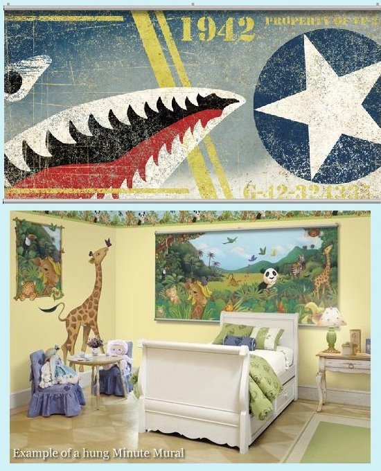 Midway Wall Minute Mural - Kids Wall Decor Store