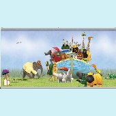 Noahs Ark  Wall Minute Mural