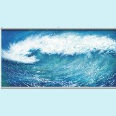 Wave Wall Minute Mural