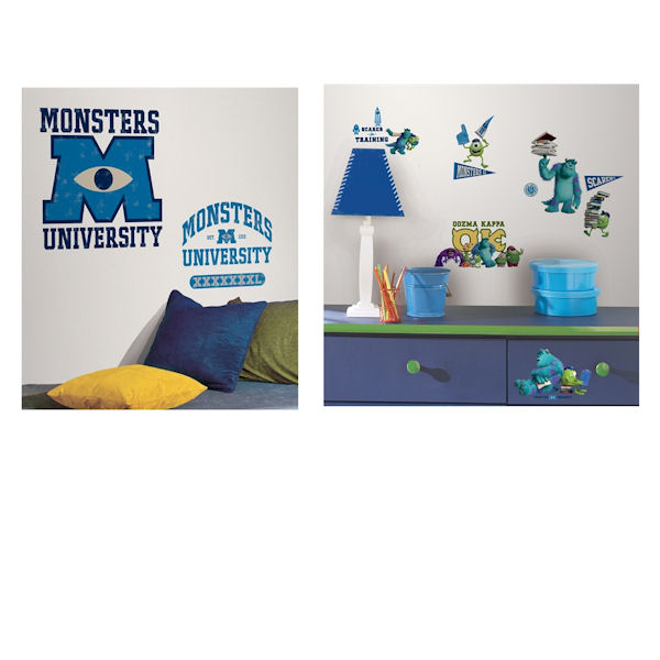 Monsters University Logo Decal Room Package - Wall Sticker Outlet