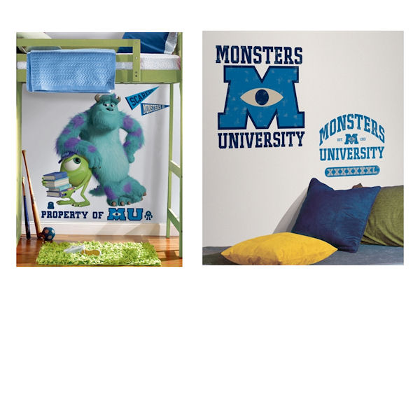Monsters University Mike and Sully Room Package - Wall Sticker Outlet