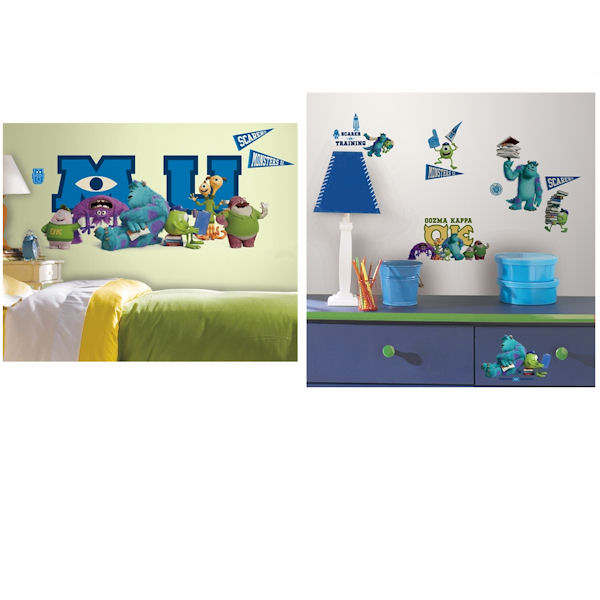 Monsters University Collage Decal Room Package - Wall Sticker Outlet