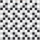 Mosaic Black and White Adhesive Wall Tiles