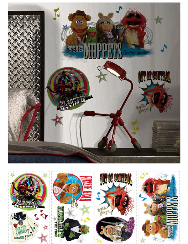 The Muppets Wall Decals - Wall Sticker Outlet