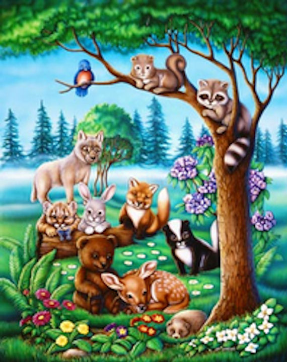 1000 images about mural painting on pinterest murals for Animal wall mural