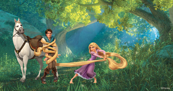 Disney Tangled Im Never Going Back  Mural - Wall Sticker Outlet