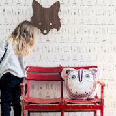 Ferm Living Native Wallpaper