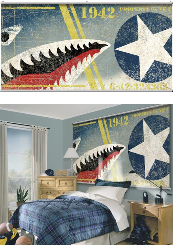 Midway Wall Minute Mural - Wall Sticker Outlet