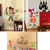Jake and The Never Land Pirates Decal Room Package