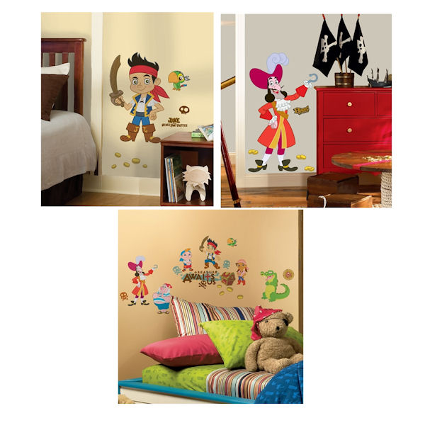 Jake and The Never Land Pirates Decal Room Package - Wall Sticker Outlet