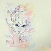 Tinkerbell I Believe In Fairies Watercolor Decal