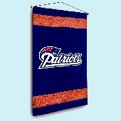 New England Patriots NFL Football Wall Hanging