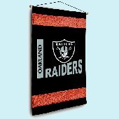 Oakland Raiders NFL Football Wall Hanging