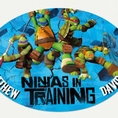 Teenage Mutant Ninja Turtle In Training Name Decal