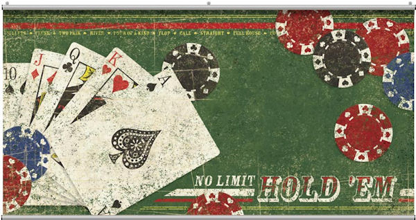 No Limit Holdem Wall Minute Mural - Wall Sticker Outlet