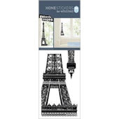 Nouvelles Eiffel Tower Window Cling Sticker