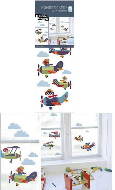 Nouvelles Planes Window Cling Sticker SALE - Wall Sticker Outlet