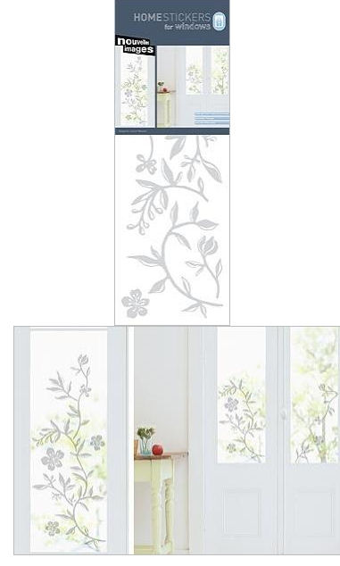Nouvelles Images Garland Window Cling Sticker - Wall Sticker Outlet