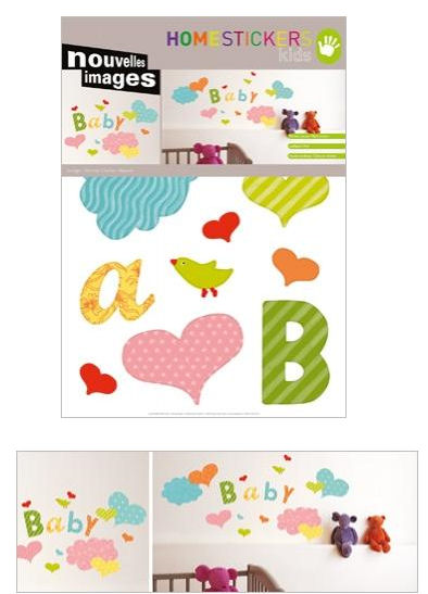 Nouvelles Images Baby  Wall Stickers - Wall Sticker Outlet