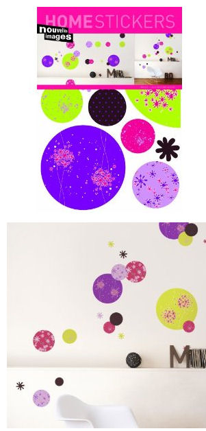 Nouvelles Images Discs Wall Stickers - Wall Sticker Outlet