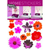 Nouvelles Images Pop Flowers Wall Stickers