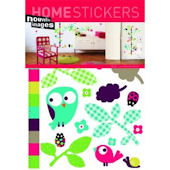 Nouvelles Images Birdy Growth Chart Wall Stickers