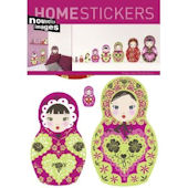 Nouvelles Images Russian Dolls Wall Stickers