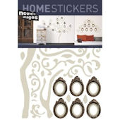 Nouvelles Images Family Tree Wall Stickers
