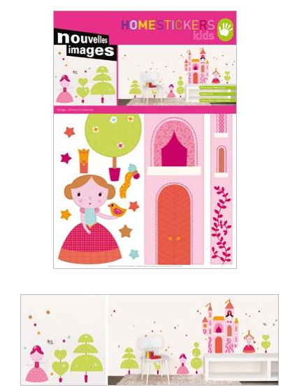 Nouvelles Images Princess Wall Stickers - Wall Sticker Outlet