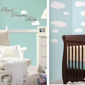 Sweet Dreams Baby and White Clouds Room Package