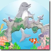 Ocean Dolphin Wall Sticker