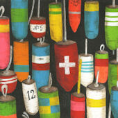 Hanging Buoys Murals That Stick