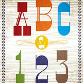 ABC And 123 Posters That Stick