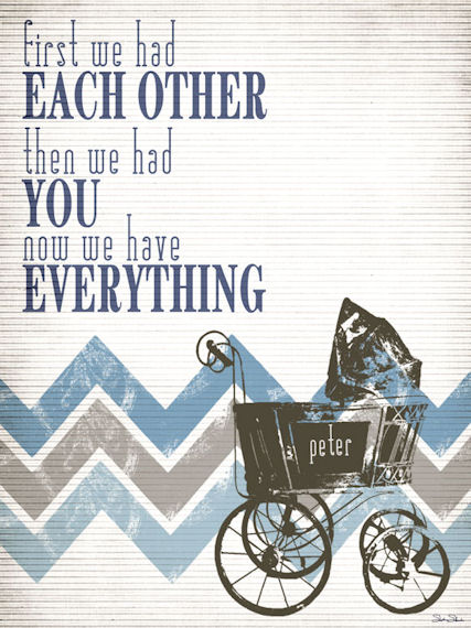 Have Everything Blue Posters That Stick - Wall Sticker Outlet