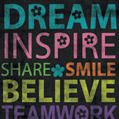 Inspire Me Dream Posters That Stick