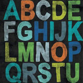 Inspire Me Alphabet Boy Posters That Stick