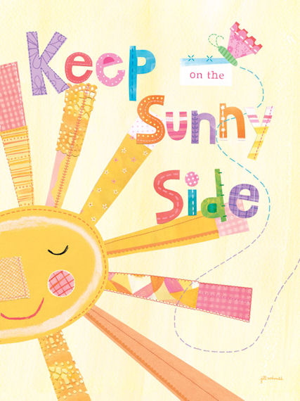Keep On The Sunny Side Posters That Stick - Wall Sticker Outlet