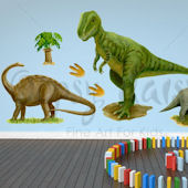 Prehistoric Pals Dinosaur Peel and Place Decals