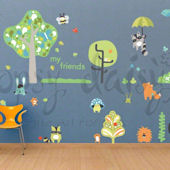 Timberland Friends Boy Peel and Place Decals