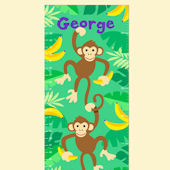 Olive Kids Monkeys Growth Chart Decal