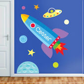 Out of This World Personalized Jumbo Wall Mural