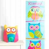 Olive Kids Owls Hoot Growth Chart Decal
