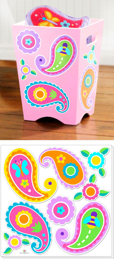Olive Kids Paisley Dreams Peel and Stick Decals - Wall Sticker Outlet