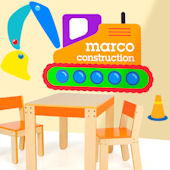 Under Construction Personalized Jumbo Wall Mural