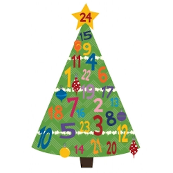Olee Kids Advent Christmas Tree Decoration Pack